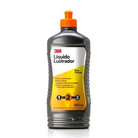 Líquido Lustrador 3m Automotivo Polimento Profissional 500ml