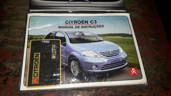 Manual Proprietário Citroen C3 2004