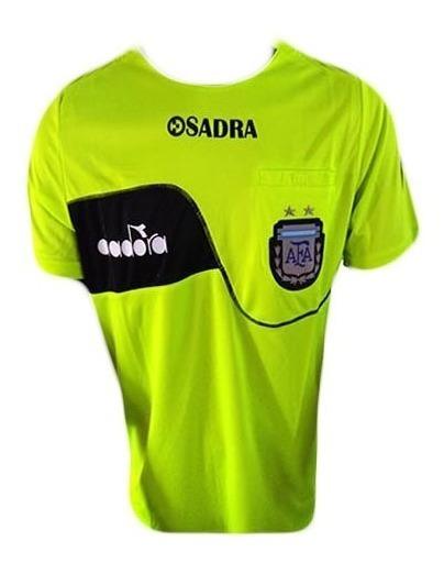 Camiseta De Arbitro Diadora 2018/19 Oficial Afa Referee