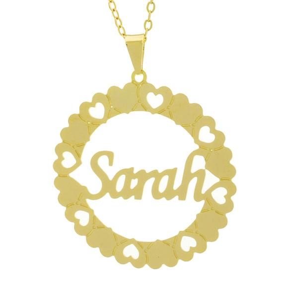 Gargantilha Mandala Sarah Banho Ouro 18 K 1061397