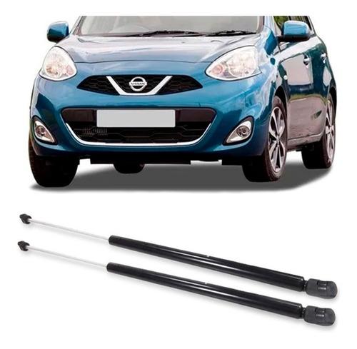 Imagem 1 de 3 de 2 Amortecedor Porta Malas Nissan March 12 13 14 15 16 17 Par