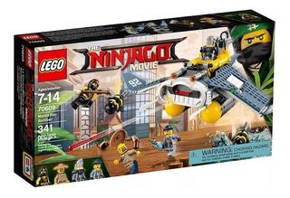 Lego 70609 Ninjago Bombardero Manta Ray Bomber