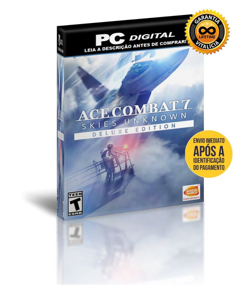 Ace Combat 7 Skies Unknown - Deluxe - Pc Digital + Brinde