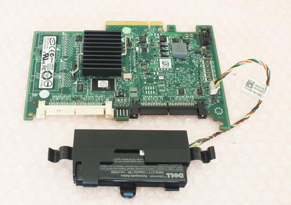 Controladora Sas Dell E2k-ucp-61(b) + Cabos + Bateria C/ Nfe
