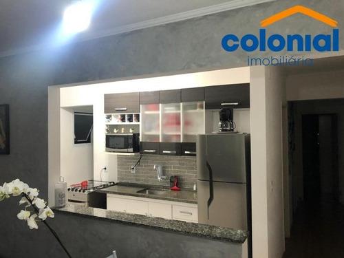 Imagem 1 de 18 de Apartamento Com 54m2 Para Venda, Morada Dos Pássaros, Residencial Sabiás, Pq Industrial, Jundiaí Sp. - Ap01301 - 69030001