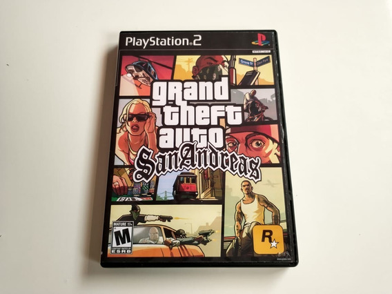 Grand Theft Auto San Andreas - Ps2 Patch