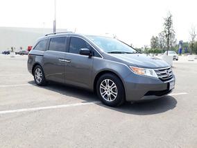Honda Odyssey 3.5 Exl Minivan Piel Dvd Qc At 2013