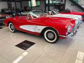 Corvette 1958 Vermelha
