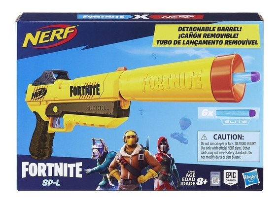 Lançador Nerf Fortnite Sneaky Springer Fall - Hasbro E7063