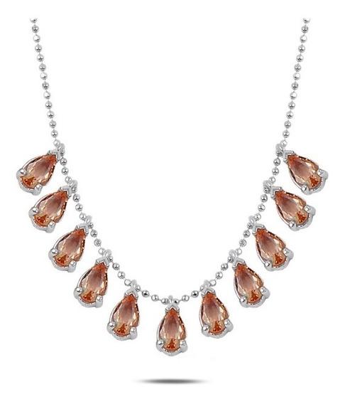 Collar Plata Turca Con Piedra Zultanite (sultanita)