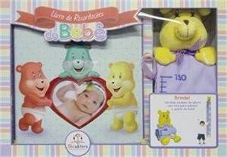 Álbum Do Bebê O Livro De Recordações - Para Menina Cor Rosa