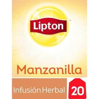 Té Manzanilla Lipton 20 Saquitos