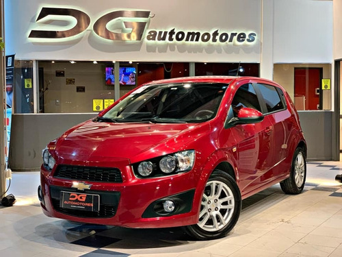Chevrolet Sonic Lt 1.6n 93.000km 2016 Rojo