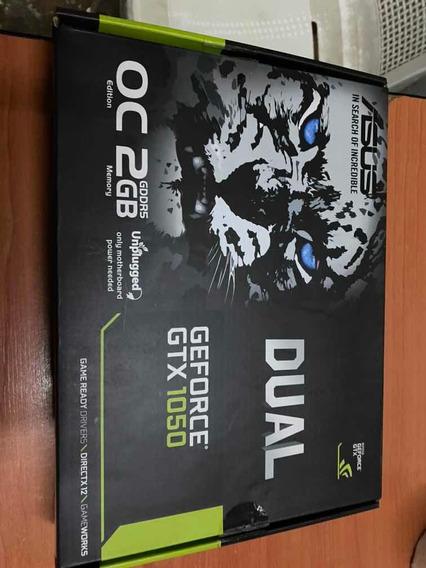 Placa De Video Asus Gtx1050 Oc 2gb!impecable!