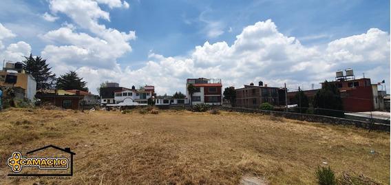 Terreno En Venta, Colonia Cuajimalpa. Odt-0126