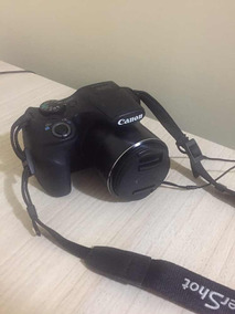 Câmera Semiprofissional Canon Sx520 Hs