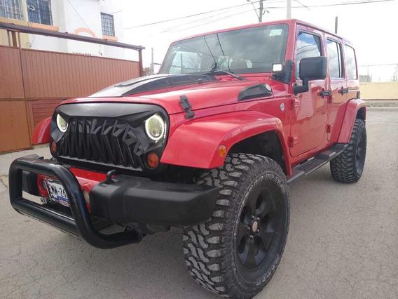 Jeep Wrangler X Sahara Unlimited 4x4 At 2012