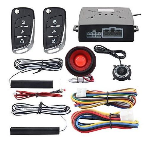 Imagen 1 de 7 de Easyguard Ec003n-v Sistema De Alarma De Seguridad Del Coche