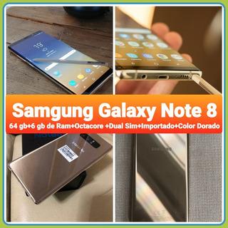 Samgung Galaxy Note 8 Importado