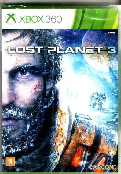 Jogo Xbox 360 Lost Planet 3 Midia Fisica Novo Lacrado!!