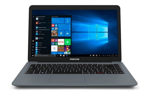 Notebook Positivo Motion C432a 4gb Tela14 Hd Windows 10 Hom
