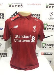 Camisa Liverpool 2018-19 Virgil Van Dijk 4 Premier League