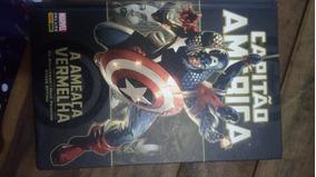 Livro Hq Capitão América - A Ameaça Vermelha