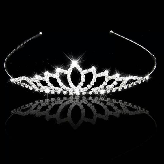 5 Coroa Strass Tiara Casamento Daminha Atacado Revenda Luxo