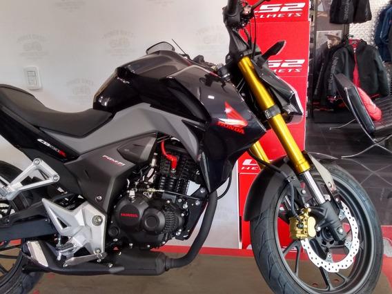 Honda Cb 190 R 0km Negra Naked Honda Bordo - Power Bikes