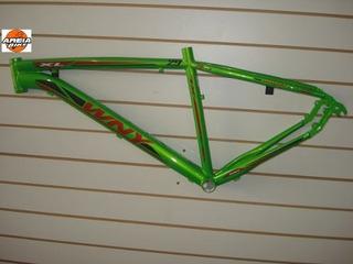 Quadro Aro 29 Silver Xl Wny Ultra Aluminio Cor Verde Neon