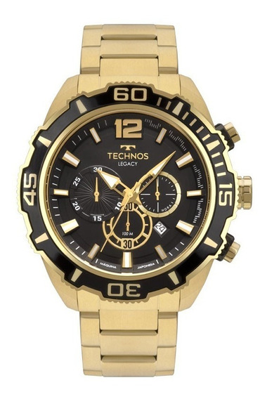 Relógio Technos Masculino Classic Legacy Analógico Js26aq/4p