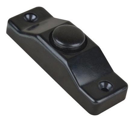 Timbre Boton Sobre Poner Negro Mod. 811-n Iusa