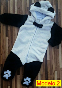 Macacão Panda Parmalat Frete Grátis