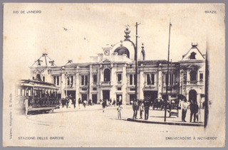 Valerio Vieira - Niterói - Estação Das Barcas - 19011931