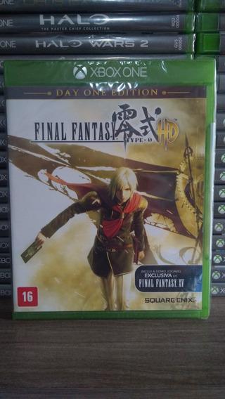 Final Fantasy Type 0 Hd Mídia Física Lacrado Xbox One