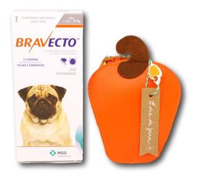 Bravecto Antipulgas E Carrapatos Para Caes De 4,5 A 10kg + B