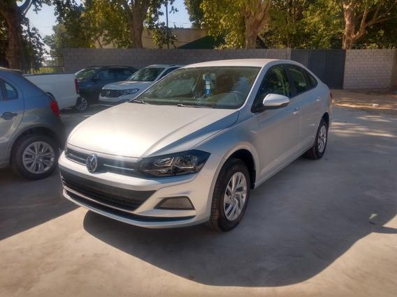 Volkswagen Virtus Trendline 0km Gris Plata Tasa 0% - Rc