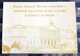 Cartao Postal Arquivo Nacional 160 Anos Arquitetura