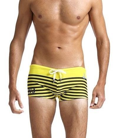 Sunga Short Swimwear Wj Estampa Mariner - Pronta Entrega