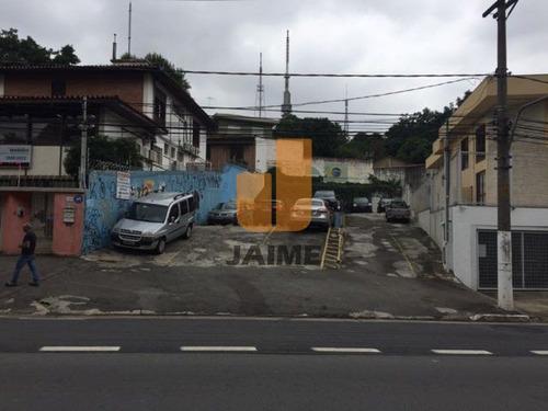 Terreno Para Venda No Bairro Sumaré Em São Paulo - Cod: Pe4471 - Pe4471