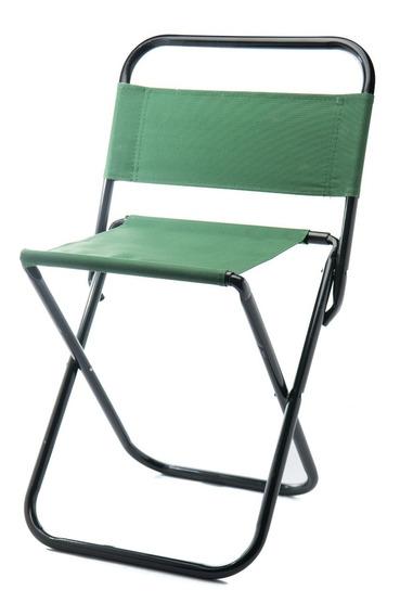 Cadeira Camping Pesca Praia Dobrável Verde