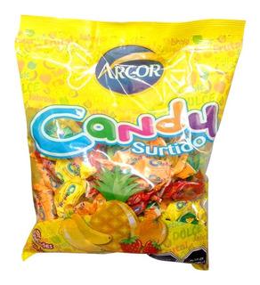 Dulces Candy Surtidos Sabor Frutas 400gr Fiestaclub