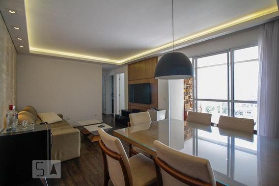 Apartamento No 5º Andar Mobiliado Com 1 Dormitório E 2 Garagens - Id: 892968510 - 268510