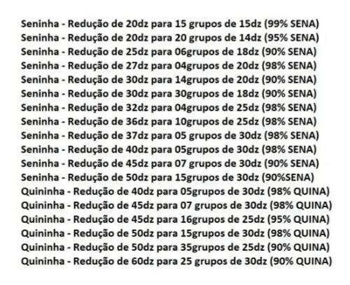 Imagem 1 de 3 de Planilhas Da Quininha E Seninha Do Bicho