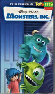 Monsters, Inc. - Disney - Pixar - Doblada Al Español - Vhs