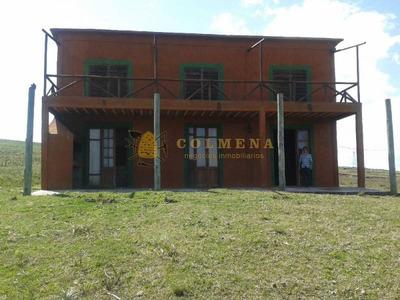 Campo Con Casa Y Tajamar, Muy Cerca Ruta 9 Y 12 - Ref: 465