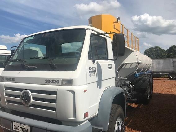 Caminhão Pipa Bombeiro Tanque Agua Vw 26220 2010 R$ 150.000.