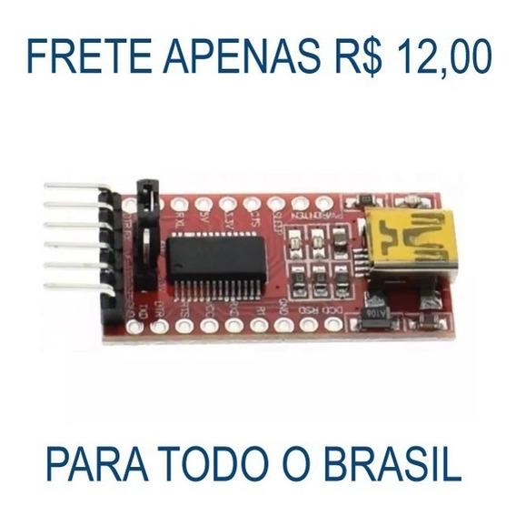 Conversor Usb Serial Rs232 Ftdi Ft232rl Ttl 5v 3v3 Arduino