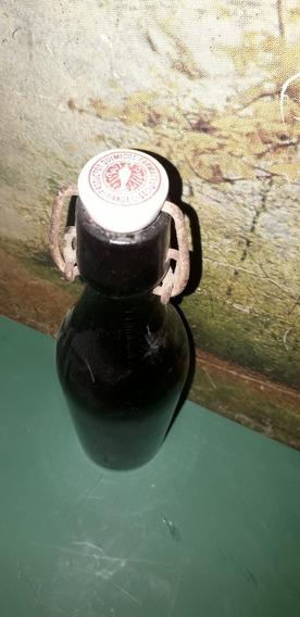 Botella Antigua Con Tapa De Cerámica-farmacia