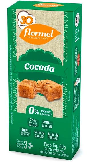 Cocada Doce De Coco Zero Açúcar Flormel